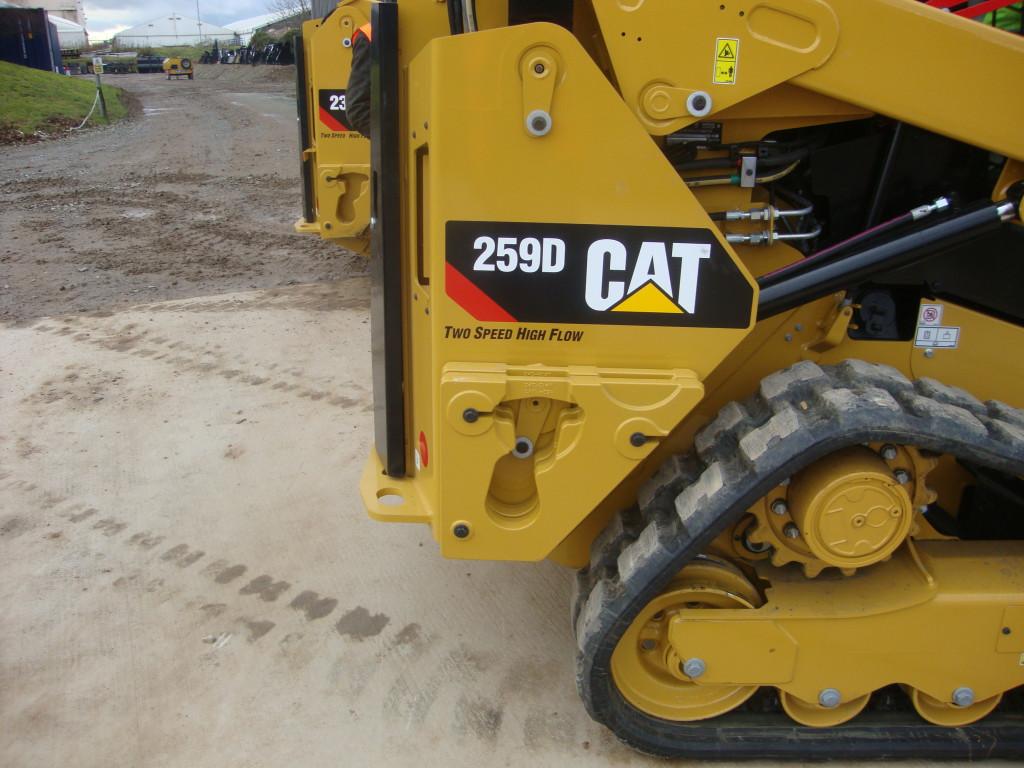 Nieuwe CAT 259D