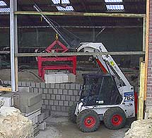 Ondersteuning bij bouw stal
