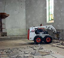 Sloopwerk NH kerk Laren